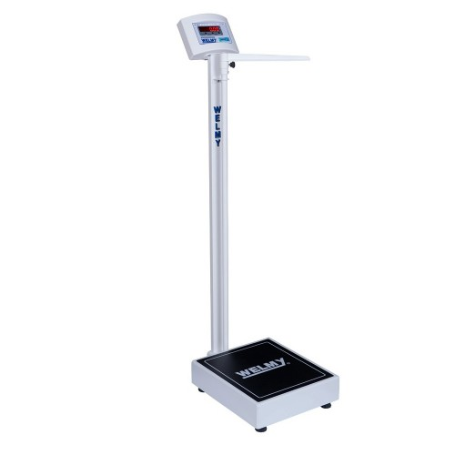 Balança eletrônica antropométrica Welmy W-200A Branca