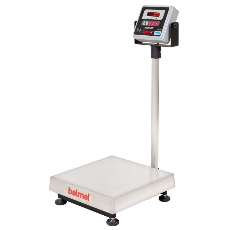 Balança Eletrônica de plataforma Balmak BK-INÓX 150 KG