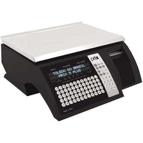 Balança computadora com impressora integrada Toledo PRIX 5 PLUS Ethernet