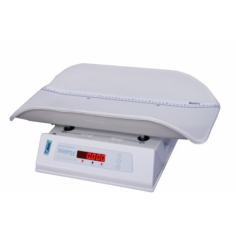 Balança eletrônica pediátrica Welmy 109E 15 kg