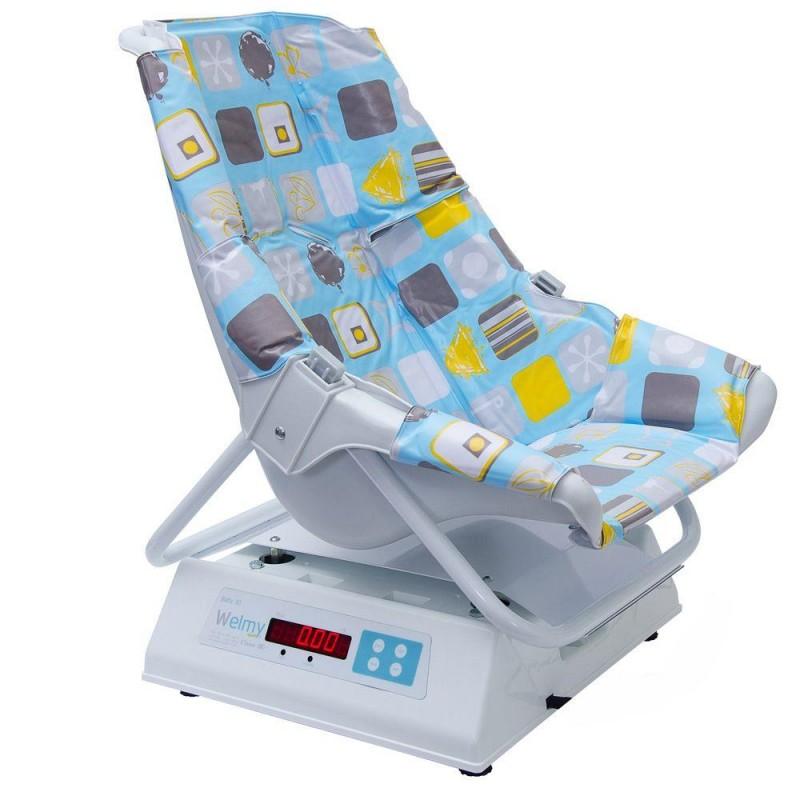 Balança eletrônica pediátrica Welmy 109E Confort 15 kg