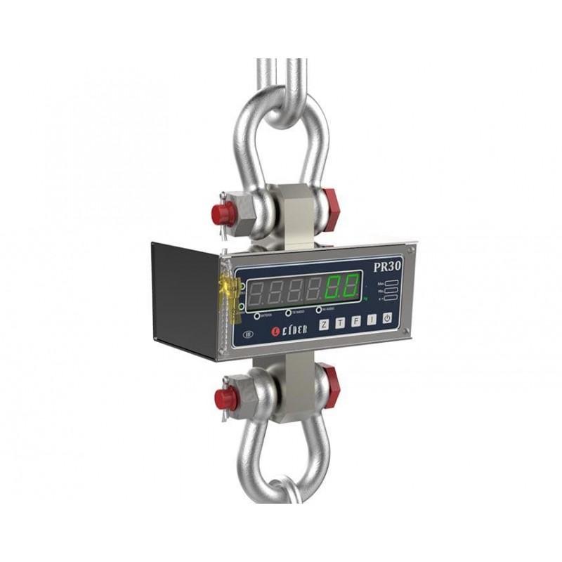 Balança eletronica suspensa PR-30 1000 kg