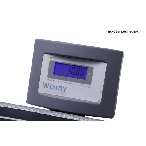 Balança portátil para pesar pessoa Welmy W-200