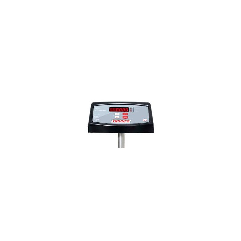 Balança Eletrônica de Plataforma Triunfo PLT Slim c/ coluna